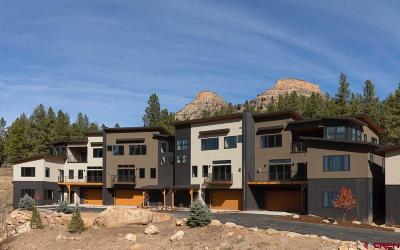 Durango Condo/Townhouse NEW: 1115 Twin Buttes Avenue