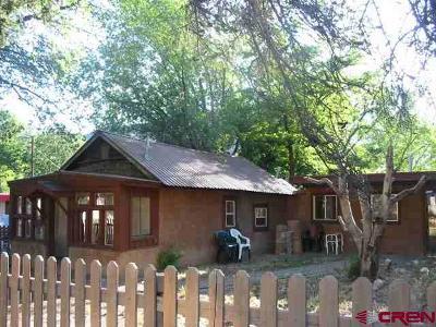 Durango CO Single Family Home Back on Market: $285,000