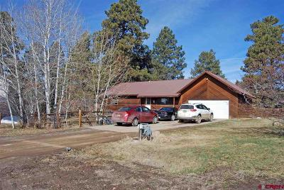 Pagosa Springs Single Family Home For Sale: 32 Tee Court