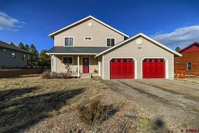 Pagosa Springs Single Family Home UC/Contingent/Call LB: 163 Woodsman Drive