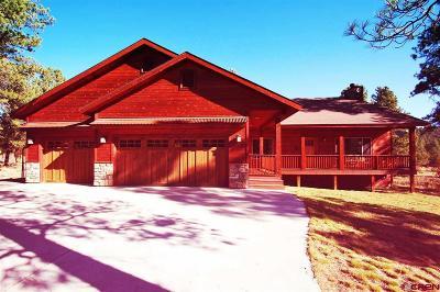 Pagosa Springs Single Family Home For Sale: 249 Coronado Circle