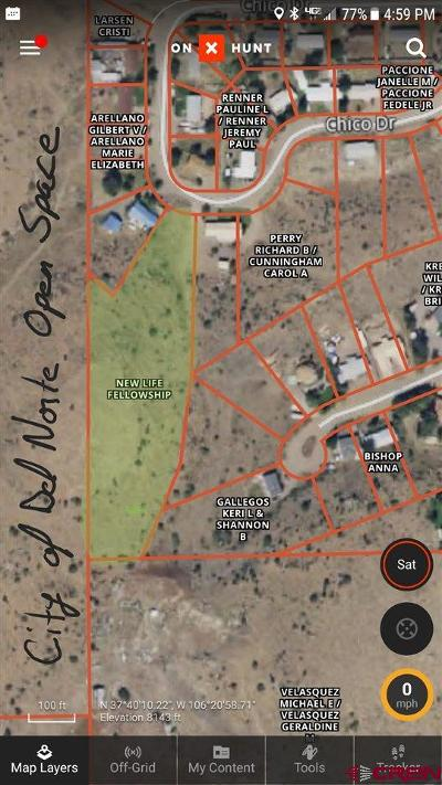 Del Norte Residential Lots & Land For Sale: Chico Drive