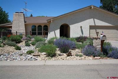 Cortez Single Family Home For Sale: 609 Colorado