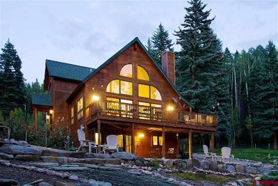 La Plata County Single Family Home For Sale: 76 McCoy Creek Drive