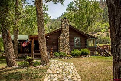 Pagosa Springs Single Family Home UC/Contingent/Call LB: 10210 Cr 500