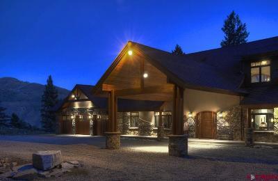 La Plata County Single Family Home For Sale: 195 Lockes Mountain