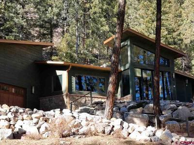 La Plata County Single Family Home For Sale: 73 Wapiti Road