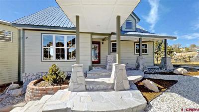 La Plata County Single Family Home For Sale: 190 Belle Starr Dr.