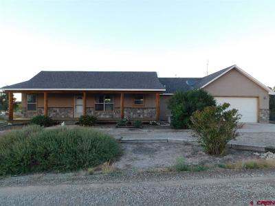 Cortez CO Single Family Home For Sale: $310,000