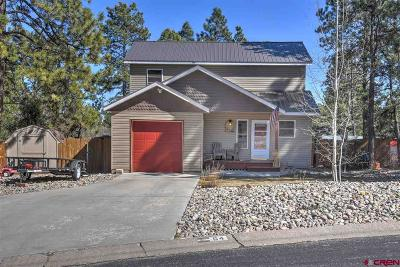 La Plata County Single Family Home For Sale: 64 Canyon Creek Trail