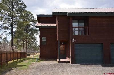 Pagosa Springs Condo/Townhouse For Sale: 75 Ace Court
