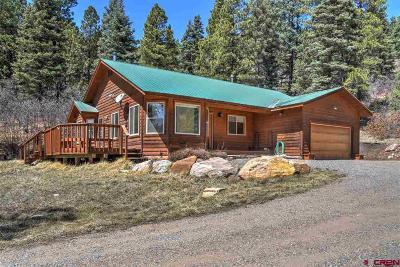 Durango Single Family Home UC/Contingent/Call LB: 119 Bear Run
