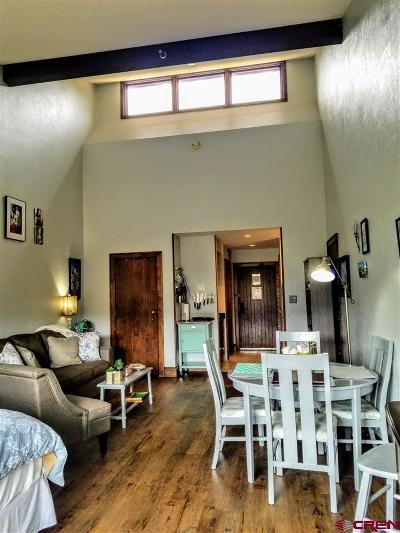 Durango Condo/Townhouse For Sale: 314 N Tamarron Drive #405