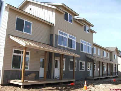 Gunnison Condo/Townhouse For Sale: 301 Joseph Lane #Unit D