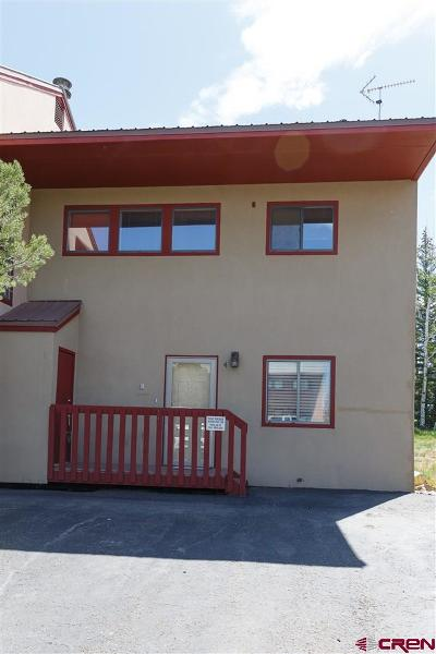 Pagosa Springs Condo/Townhouse UC/Contingent/Call LB: 578 Lakeside Drive #4