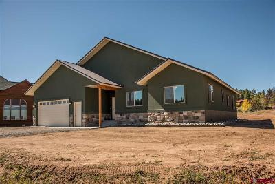 Pagosa Springs Single Family Home For Sale: 66 Escobar Avenue
