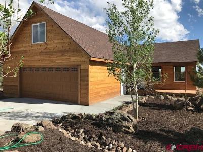 Cedaredge Single Family Home For Sale: 549 NE Ginter Grove Lane