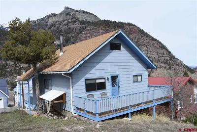 Ouray County Single Family Home For Sale: 221 Ski Hill Lane