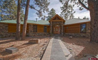 Ridgway Single Family Home For Sale: 286 Bear Cub Drive