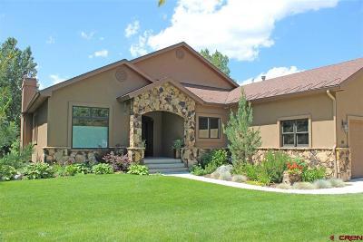 La Plata County Single Family Home For Sale: 84 Troon Trail