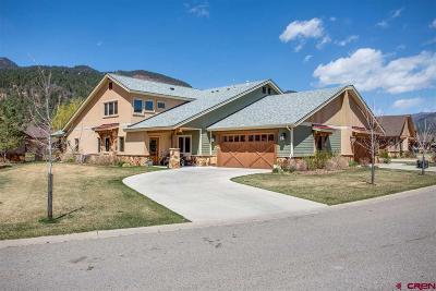 Durango CO Condo/Townhouse NEW: $659,000