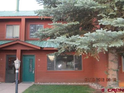 Pagosa Springs Condo/Townhouse For Sale: 302 Talisman Drive #38