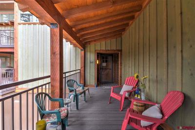 Durango Condo/Townhouse For Sale: 365 S Tamarron Drive #770