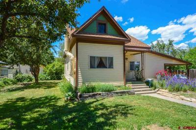 Hotchkiss, Crawford, Paonia Single Family Home For Sale: 408 Delta Avenue
