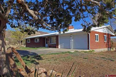 Mancos Single Family Home UC/Contingent/Call LB: 41230 Road G
