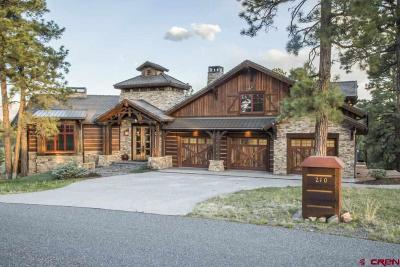 Ouray County Single Family Home For Sale: 210 Hummingbird Trail