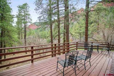 La Plata County Single Family Home For Sale: 56 Saddle Lane