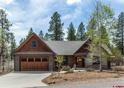 Durango Single Family Home UC/Contingent/Call LB: 245 Copper Rim Trail
