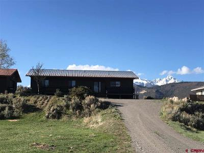 Ridgway Single Family Home UC/Contingent/Call LB: 550 Vista Drive