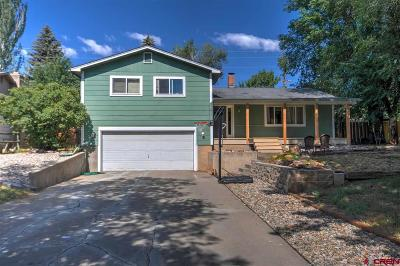 Durango Single Family Home For Sale: 2905 Holly Avenue