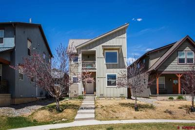 Durango Single Family Home For Sale: 418 Clear Spring Avenue