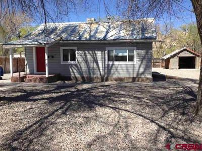 Montrose Single Family Home For Sale: 831 S 5th Street