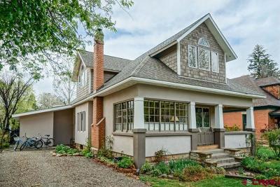 Durango Single Family Home For Sale: 961 E 4th Avenue