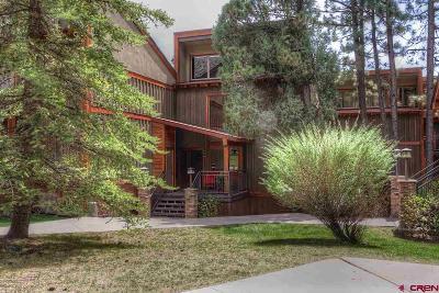 Durango Condo/Townhouse For Sale: 73 S Tamarron Drive #854