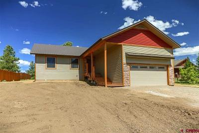 Pagosa Springs Single Family Home For Sale: 187 Arrowhead Drive