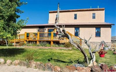 Gunnison Single Family Home UC/Contingent/Call LB: 38163 Us Highway 50 Highway