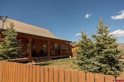 Creede Single Family Home For Sale: 311 Holy Moses Drive