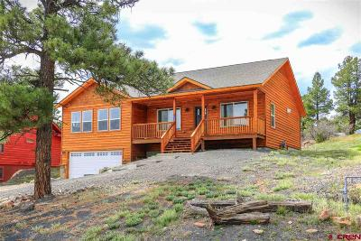 Pagosa Springs Single Family Home For Sale: 48 Putter Court