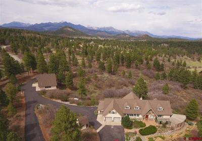 Pagosa Springs Single Family Home For Sale: 1600 Hatcher Circle