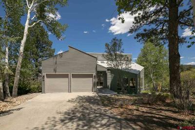 Durango Single Family Home For Sale: 70 Highland Place