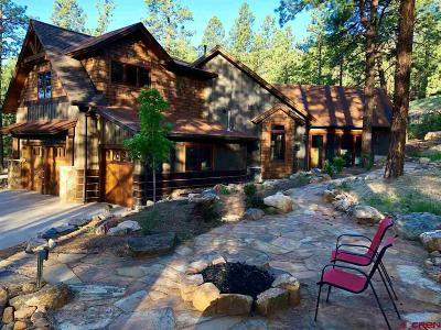Durango Single Family Home For Sale: 97 Renegade Trail