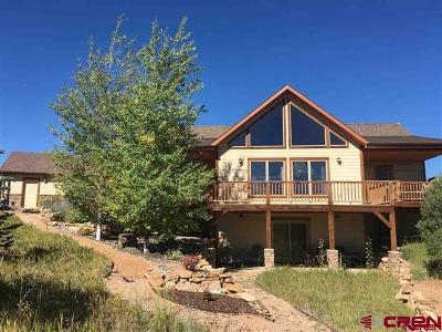 Ouray County Single Family Home For Sale: 1469 Ponderosa Drive