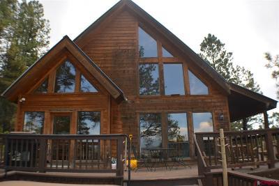Pagosa Springs Single Family Home For Sale: 485 Kinnikinnik Drive