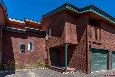 Pagosa Springs Condo/Townhouse For Sale: 67 Ace Court