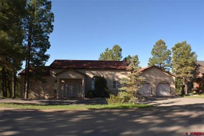 Pagosa Springs Single Family Home For Sale: 140 W Golf Place