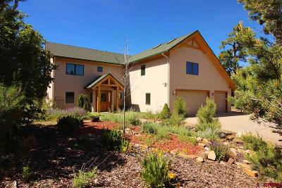 Hesperus Single Family Home For Sale: 450 Red Oaks Lane
